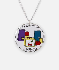 My Favorite Class Necklace