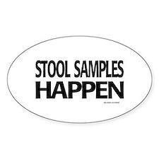 stool samples happen Decal