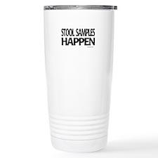 stool samples happen Travel Mug