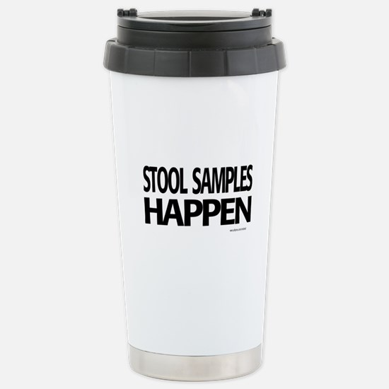 stool samples happen Travel Mug