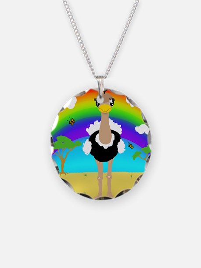 Kawaii Ostrich Necklace