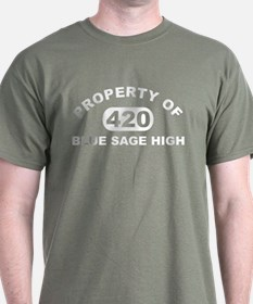 Property of Blue Sage High T-Shirt