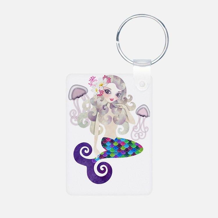 Amethyste Mermaid Keychains