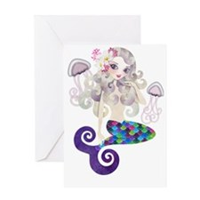 Amethyste Mermaid Greeting Card