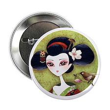 """Sakura Girl 2.25"""" Button"""