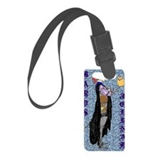 Bards journal Luggage Tag