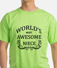 World's Most Awesome Niece T-Shirt