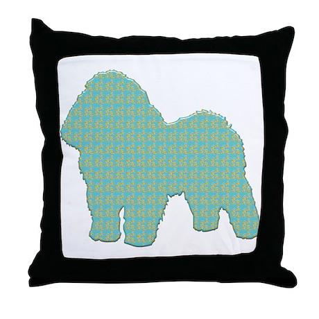 Paisley Bolognese Throw Pillow