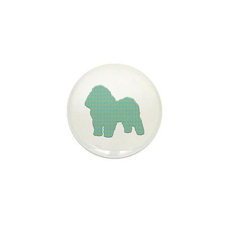 Paisley Bolognese Mini Button (100 pack)