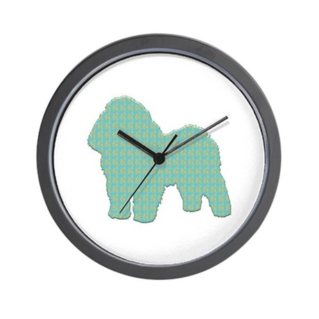 Paisley Bolognese Wall Clock