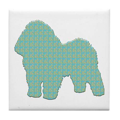 Paisley Bolognese Tile Coaster