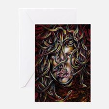 Medusa No.Three Framed Print Greeting Card
