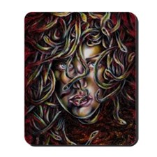 Medusa No.Three Framed Print Mousepad