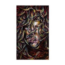 Medusa No.Three Framed Print Decal