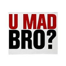 You Mad Bro? Throw Blanket