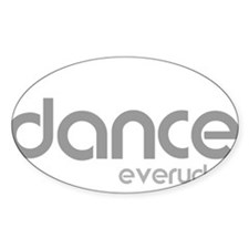 dance every day for black Decal