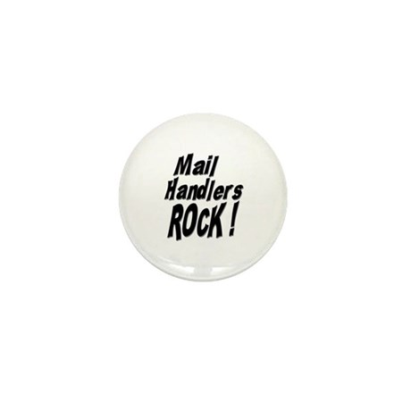 Mail Handlers Rock ! Mini Button (100 pack)