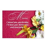Mom, I Love You Postcards (Package of 8)