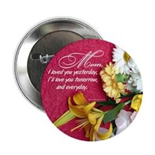 "Mom, I Love You 2.25"" Button (100 pack)"