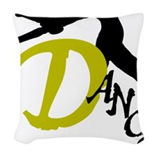 Dance Arch Woven Throw Pillow