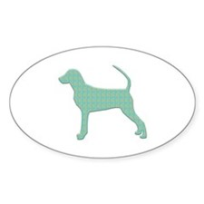 Paisley Bracco Oval Decal