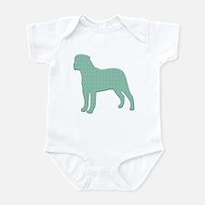 Paisley Bullmastiff Infant Bodysuit