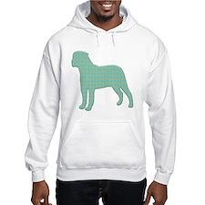 Paisley Bullmastiff Hoodie