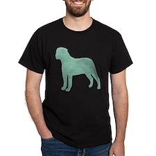 Paisley Bullmastiff T-Shirt