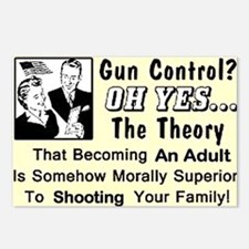 Gun Control Postcards (Package of 8)