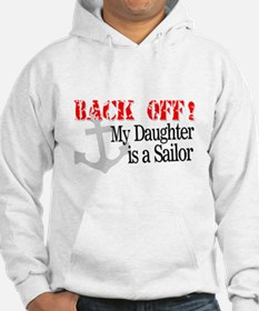 Back Off!-My Daughter is a Sa Jumper Hoody