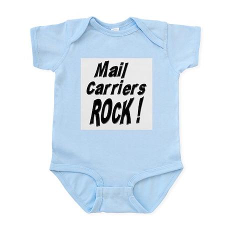 Mail Carriers Rock ! Infant Bodysuit
