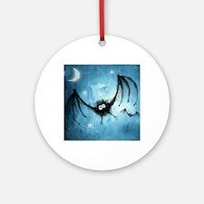 halloween Round Ornament