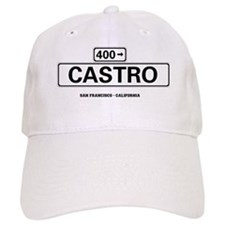 USA - STREET SIGNS - SAN FRANCISCO - CASTRO Baseball Cap