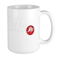 Lia Belle dot Me White Mug