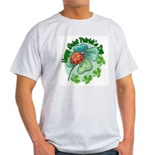 Lucky Ladybug St. Patick's Day T-Shirt
