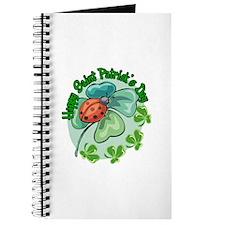 Lucky Ladybug St. Patick's Day Journal