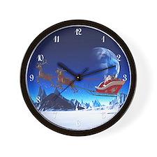 sahr_wooden  Wall Clock