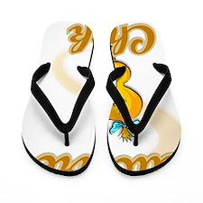 Euchre Chick #2 Flip Flops