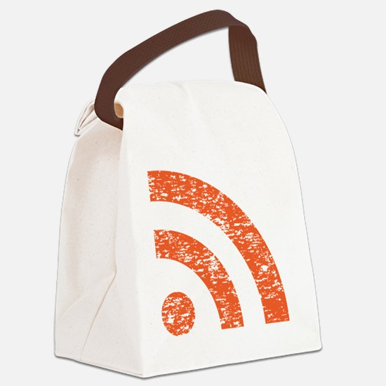 broadcast icon Canvas Lunch Bag
