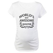 World's Most Awesome Quilter Shirt