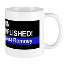 Mission Accomplished-BUMPER bo Mug