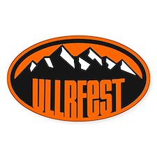 UllrFest Mountain Decal