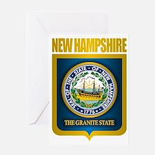 New Hampshire Seal (back) Greeting Card