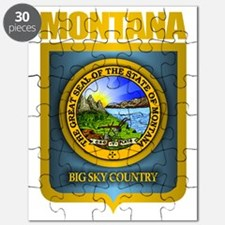 Montana Seal (back) Puzzle