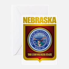 Nebraska Seal (back) Greeting Card