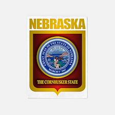 Nebraska Seal (back) 5'x7'Area Rug