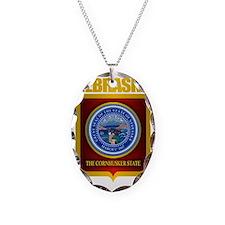 Nebraska Seal (back) Necklace