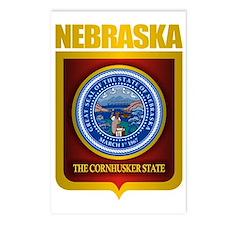 Nebraska Seal (back) Postcards (Package of 8)