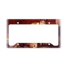 Got Cherries Apron License Plate Holder