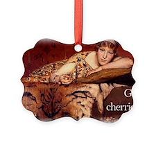 Got Cherries Apron Picture Ornament